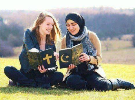 musulmane-et-chretienne